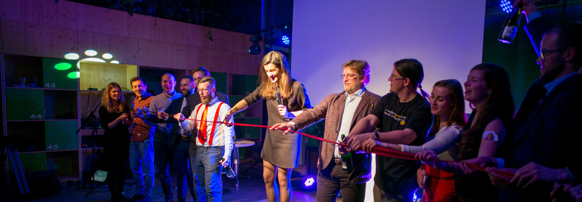 Grand opening party at Impact Hub Brno